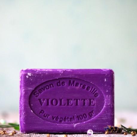 Marsylskie mydło - Fiołki