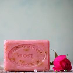 Marsylskie mydło - Płatki Róży
