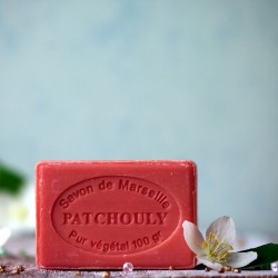 Marsylskie mydło - Paczuli Le Chatelard