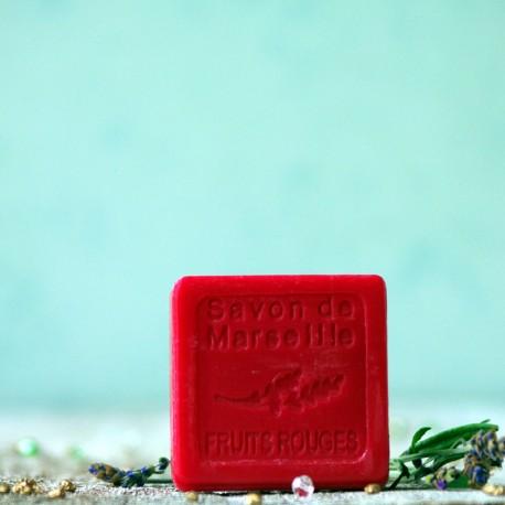 Mydło marsylskie - czerwone owoce