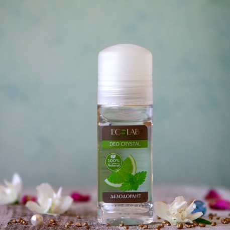 Naturalny dezodorant do ciała w kulce cytrynowy