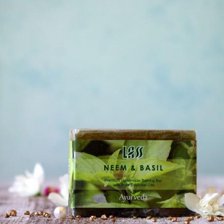 Mydło neem i bazylia