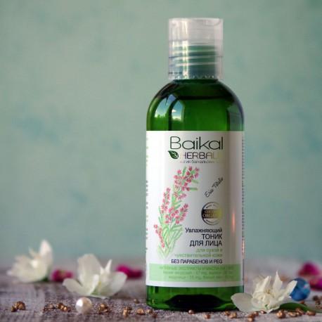 Nawilżający tonik do twarzy Baikal Herbals