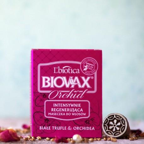 Białe Trufle i Orchidea maska do włosów Biovax