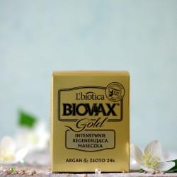 Argan i 24K Złoto maska do włosów Biovax