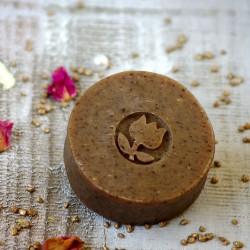 Mydło kawowe peelingujące TULi