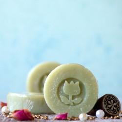 Mini mydło z zieloną glinką TULi
