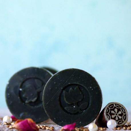 Mini mydło węglowe oczyszczające TULi