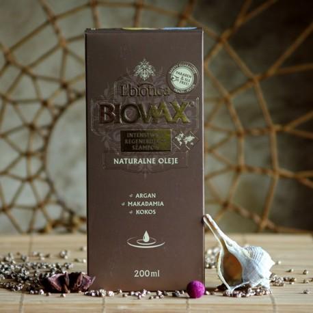 Szampon do włosów z olejkami Biovax