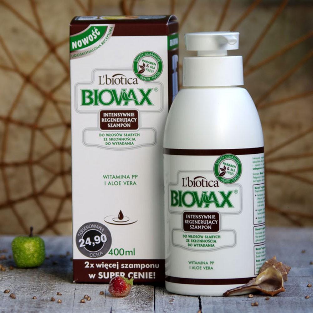 szampon na wypadanie włosów biovax