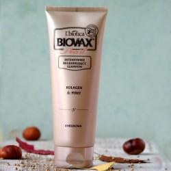 Kolagen i Perły szampon naprawczy Biovax