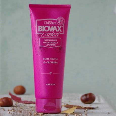 Białe Trufle i Orchidea szampon zmiękczający Biovax
