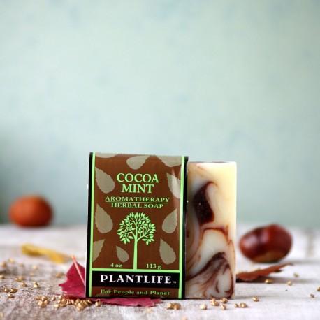 Naturalne mydło kakao i mięta Plantlife