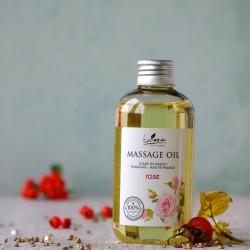 Olejek do masażu różany