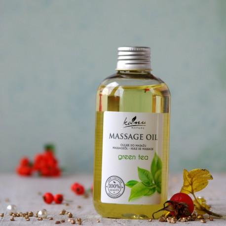 Olejek do masażu Zielona Herbata Kanu