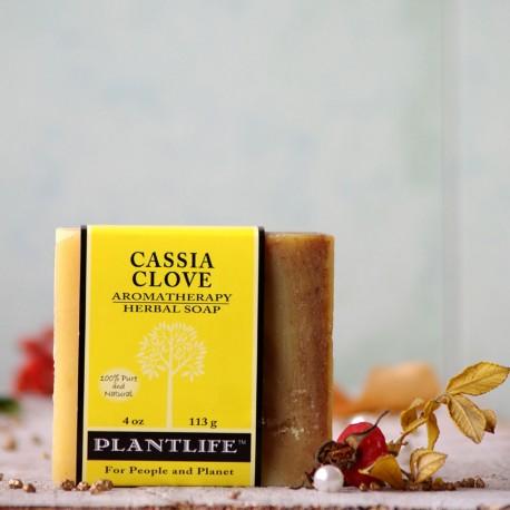 Cassia i goździki naturalne mydło Plantlife