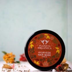 Indyjska złota maska do włosów Planeta Organica