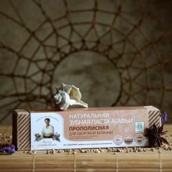 Wybielająca propolisowa pasta do zębów Babuszka Agafia