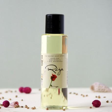 Róża olejek do ciała i masażu The Secret Soap Store