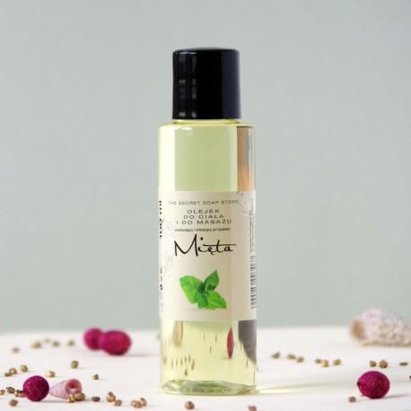 Mięta olejek do ciała i masażu The Secret Soap Store
