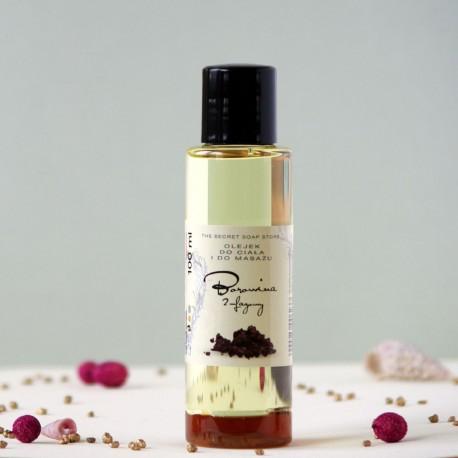 Borowina olejek do ciała i masażu The Secret Soap Store