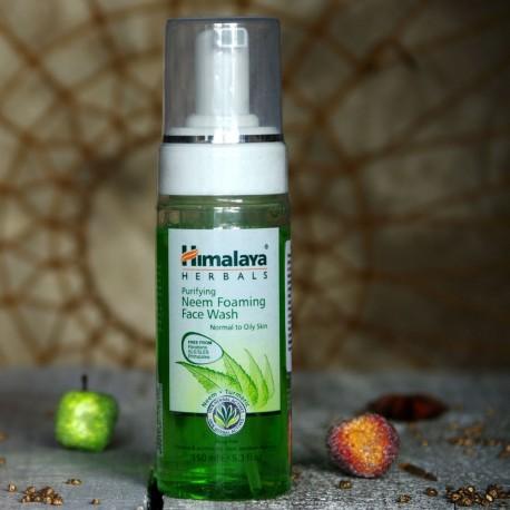 Pianka do mycia twarzy z neem Himalaya