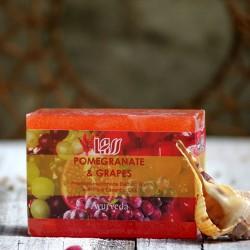 Mydło granaty i winogrona Lass Naturals