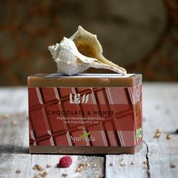 Mydło czekoladowo miodowe Lass Naturals