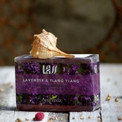 Mydło lawenda i kwiaty Ylang Ylang Lass Naturals