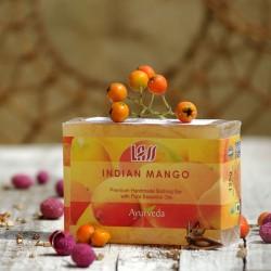 Mydło z soczystym mango Lass Naturals