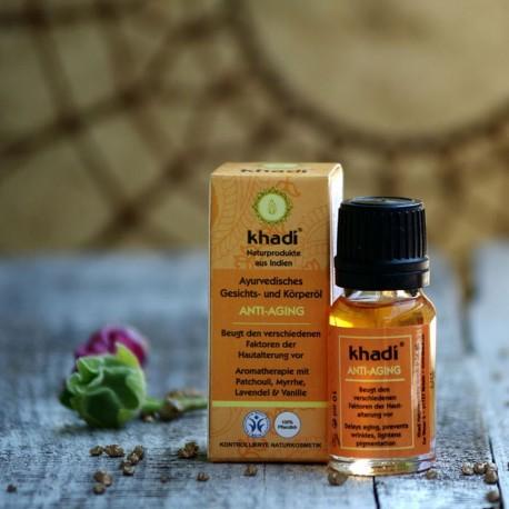 Ajurwedyjski olejek przeciwzmarszczkowy Khadi