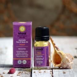 Ajurwedyjski olejek fiołkowy Khadi