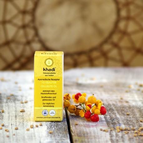 Antycellulitowy olejek do ciała Khadi