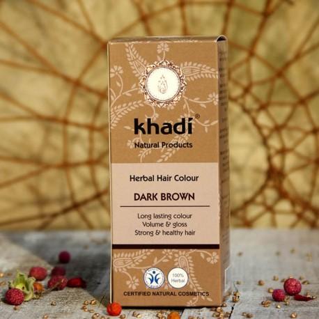 Naturalna henna Khadi - ciemny brąz