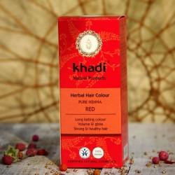 Naturalna henna Khadi - czerwień