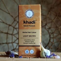 Naturalna henna Khadi - jasny brąz
