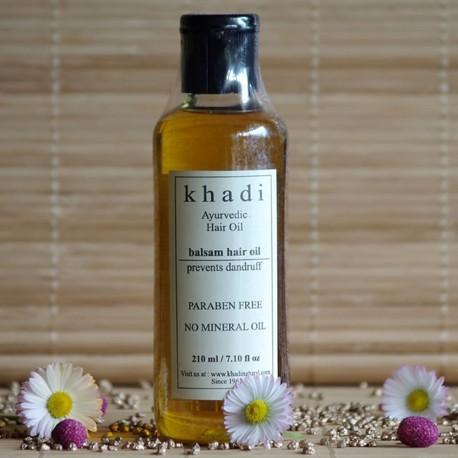 Przeciwłupieżowy olejek do włosów Khadi