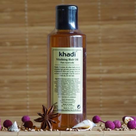 Olejek stymulujący porost włosów Khadi