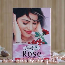 Hesh Maseczka z płatków róży w pudrze
