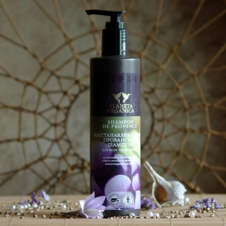 Prowansalski szampon regenerujący Planeta Organica