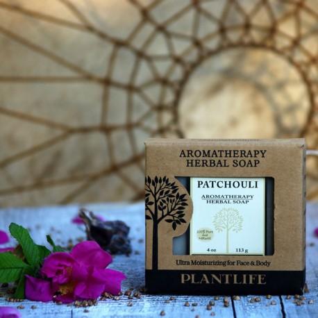 Paczuli naturalne mydło wegańskie PLANTLIFE