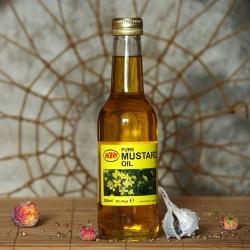 Olej z gorczycy musztardwy KTC 250 ml.