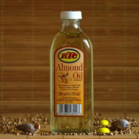 Naturalny olej migdałowy KTC 200 ml.