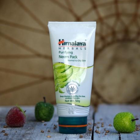 Oczyszczająca maska neem i kurkuma Himalaya
