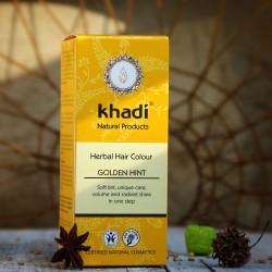 Naturalna henna Khadi - złoty blond