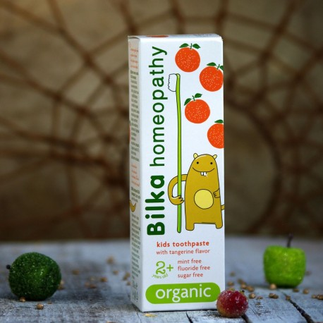 Homeopatyczna pasta do zębów dla dzieci + 2 Bilka