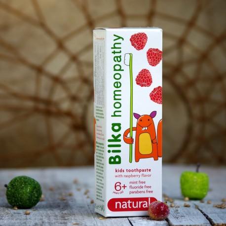 Homeopatyczna pasta do zębów dla dzieci + 6  Bilka