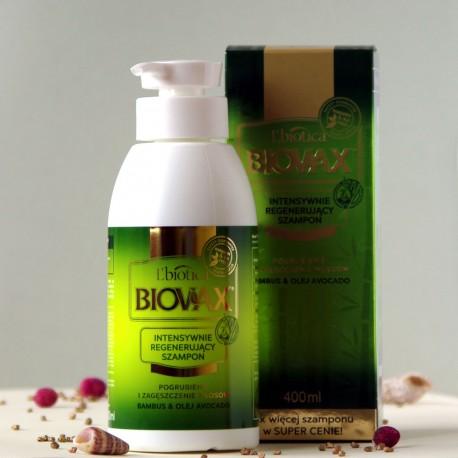 Szampon Bambus & Olej Avocado Biovax