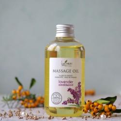 Olejek do masażu lawendowo  - sandałowy Kanu