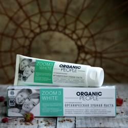 Zoom 3 White - organiczna pasta do zębów Organic People